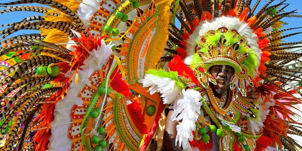 Extravagant Costumes at Junkanoo Atlantis Bahamas