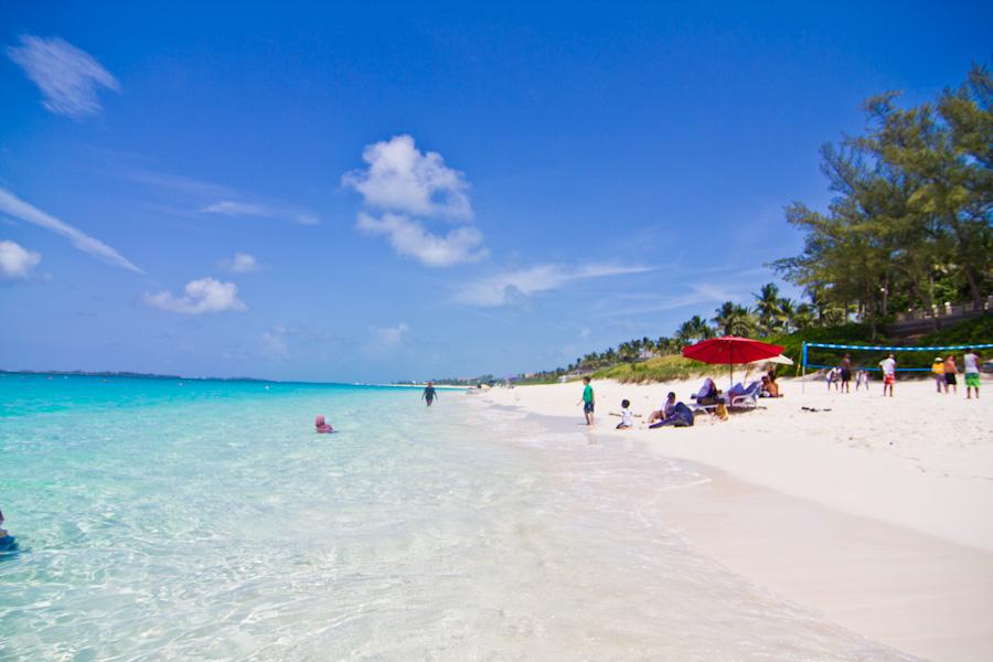 Paradise Island Bahamas Strand
